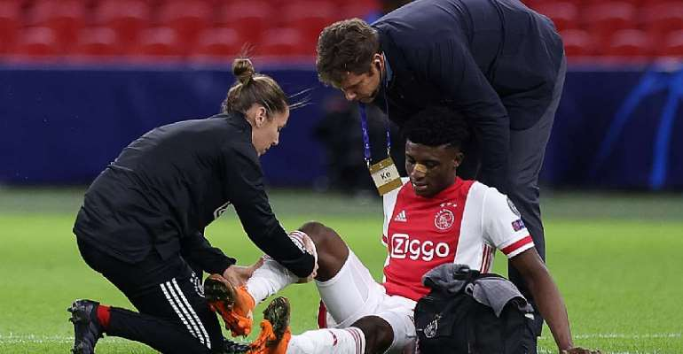 UCL: Mohammed Kudus Sustain Injury In Ajax's Clash Against Liverpool