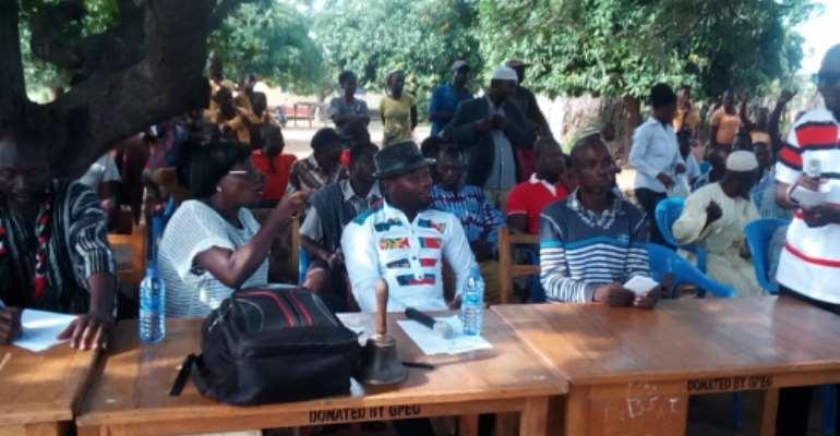 Daffiama - Bussie -  Issa District Student's Union Wage  War Against Teenage Pregnancy