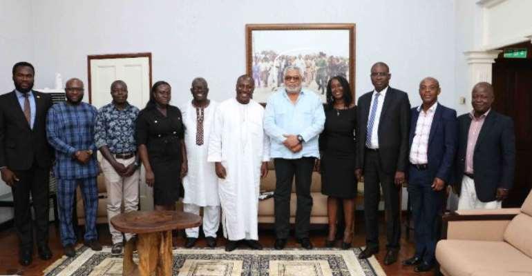 Afenyo-Markin, GWC Bosses Meet Rawlings