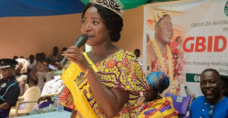 Beauty Queen Takes Healthcare To Gbidukor