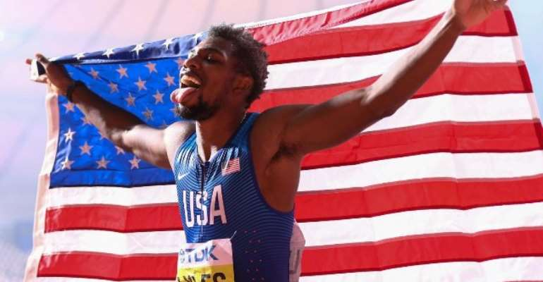 Doha 2019: Noah Lyles Sparkles In 200m Final As Gemili Narrowly Misses Out On A Medal
