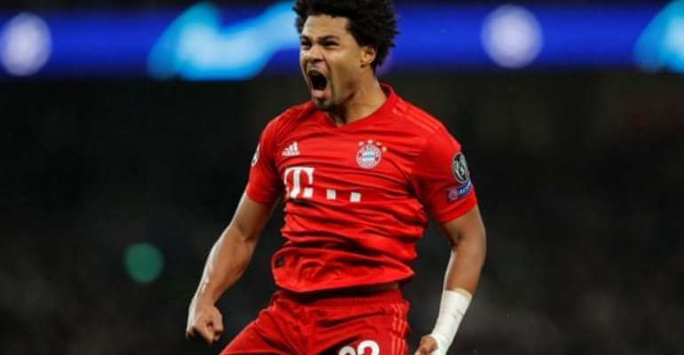 UCL: Gnabry Scores Four As Brutal Bayern Hit 7 At Spurs