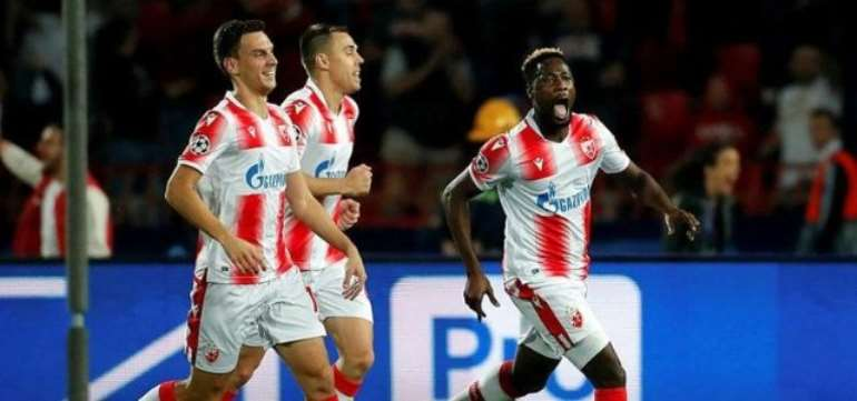 UCL: Boakye-Yiadom On Target As Red Star Belgrade Beat 10-Man Olympiakos