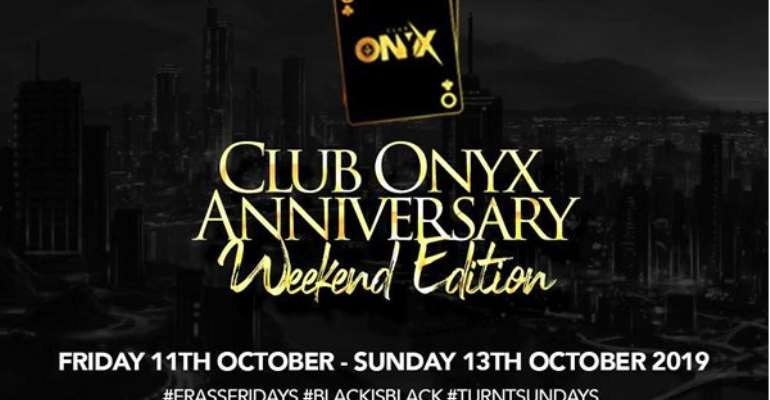 Accra's hottest nightclub, Club Onyx celebrates 3rd anniversary