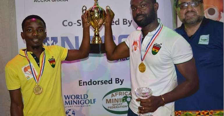 AMCON 2019: Ghana Emerges Winner At Maiden African MiniGolf Cup Of Nations