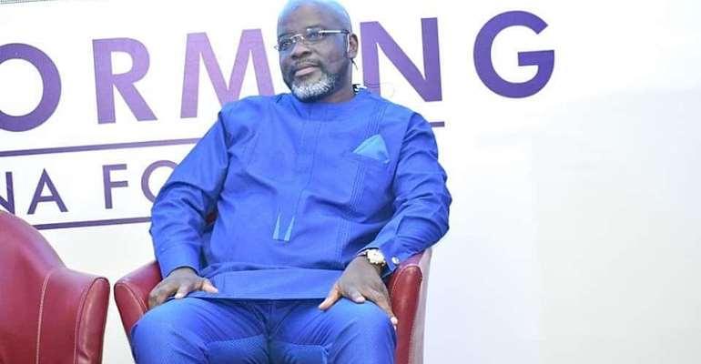 GFA Elections: Osei Kweku Palmer Unveils Policies For Ghana Football [PHOTOS]