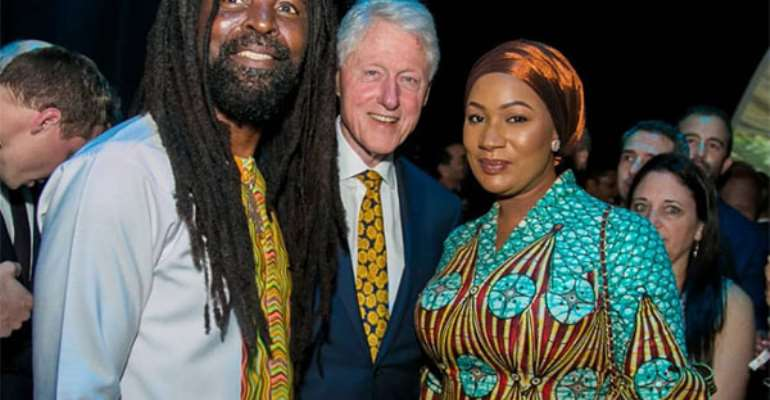 Second Lady Joins Bill Clinton At Chefs Event
