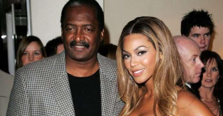 Mathew Knowles and Beyoncé
