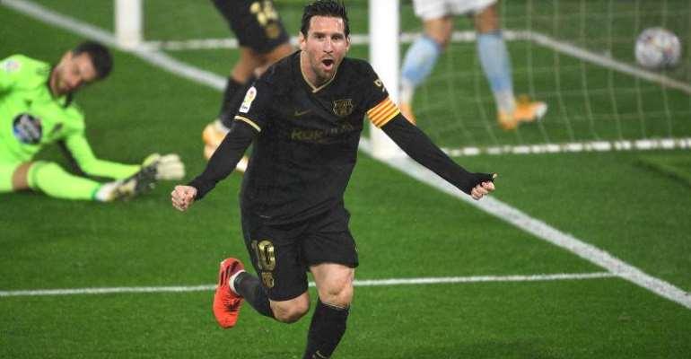 La Liga: Messi And Fati Inspire 10-Man Barca To Victory Over Celta