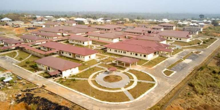Akufo-Addo Commissions Ahafo Ano North Municipal Hospital At Tepa