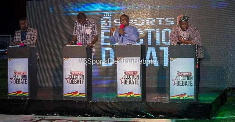 3Sports Election Debate Provides Platform For Sound Ideas On Sports