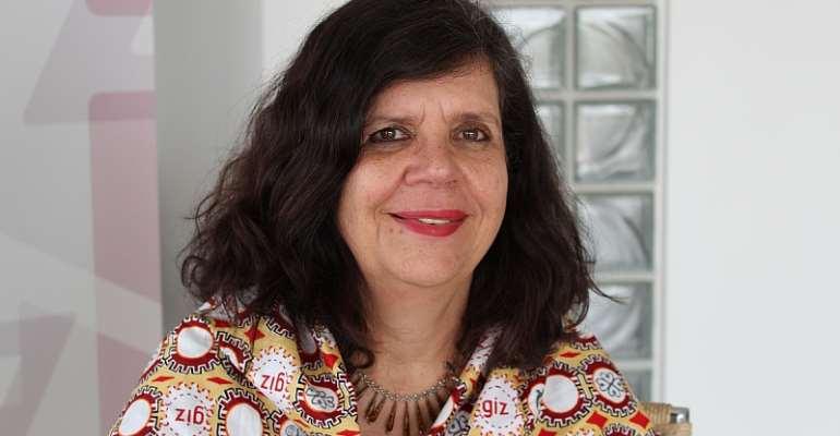 Country Director of GIZ Ghana, Ms. Regina Bauerochse Barbosa