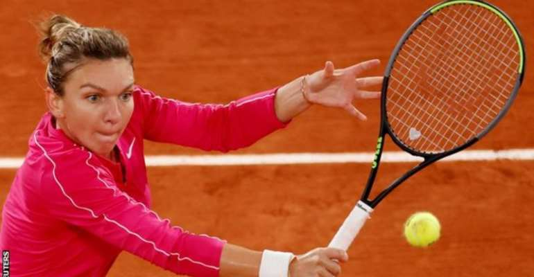 Simona Halep will return to world number one if she wins a third Grand Slam title with victory in Paris