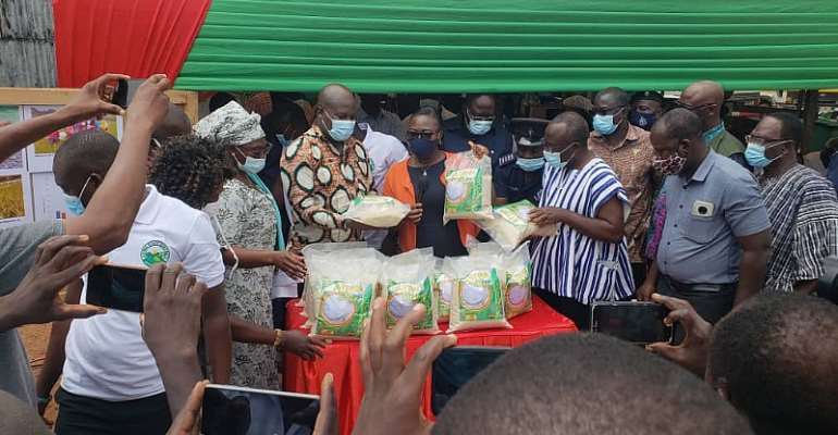 Atiwa East Department Of Agriculture Holds Rice Day Celebration