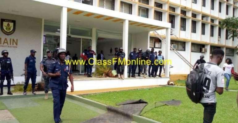 Curfew Imposed On KNUST, Shut Down Indefinitely