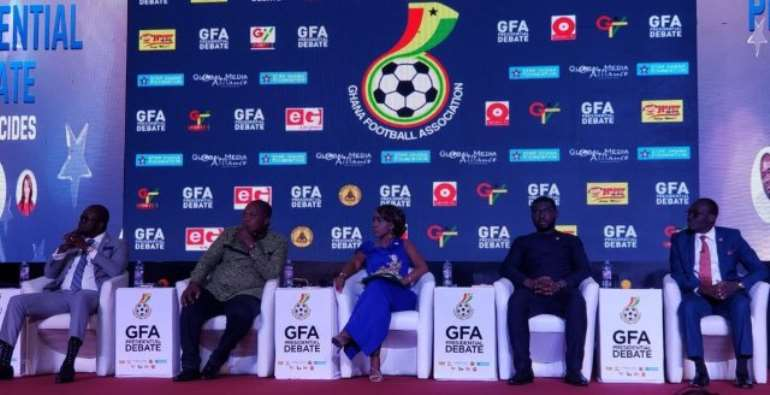 GFA Presidential Debate: Why Nana Yaw Amponsah Top-Rated All Five Candidates