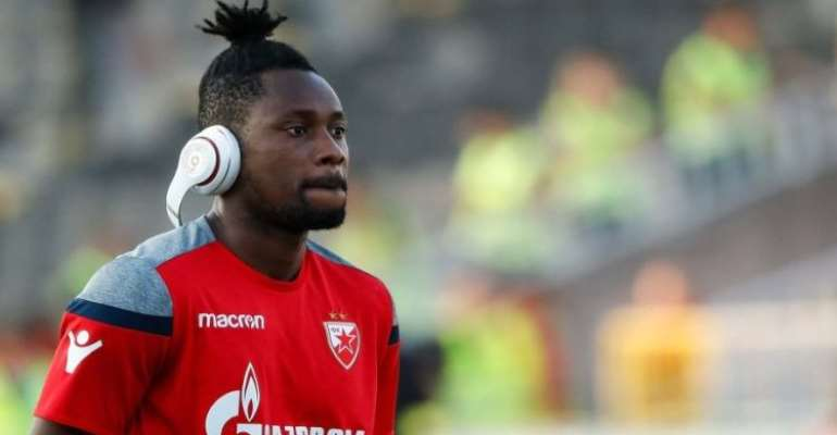 UCL: Richmond Boakye-Yiadom Out Of Crvena Zvezda's Game Against Tottenham