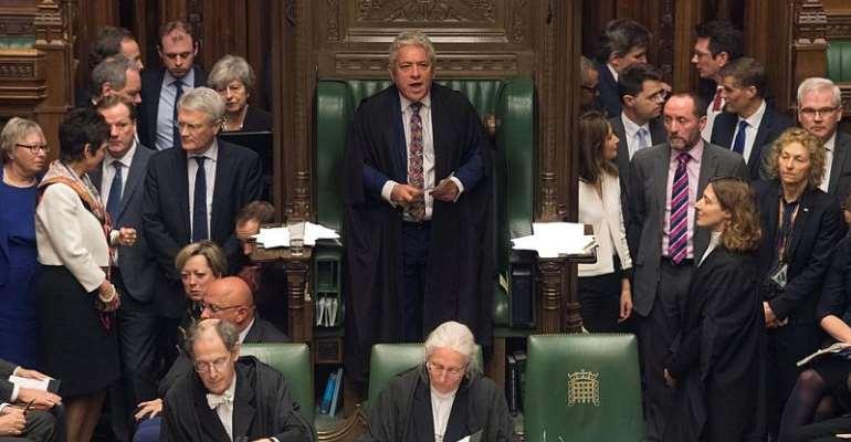 UK Parliament/Mark Duffy/REUTERS