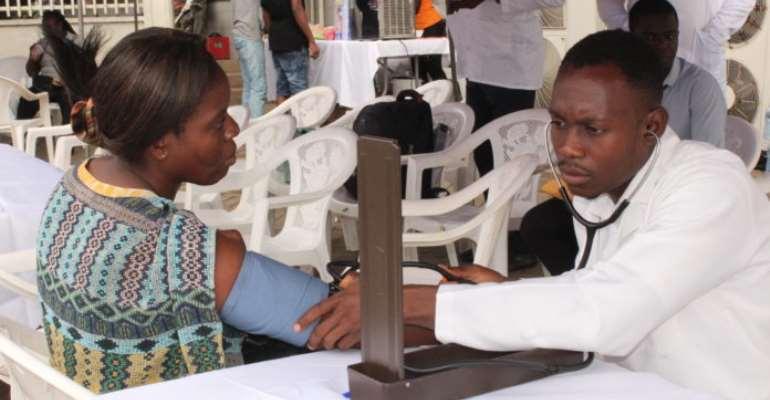 GCB Sponsors Massive Health Screening In Accra