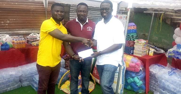 S.O Frimpong Donates To Save Them Young