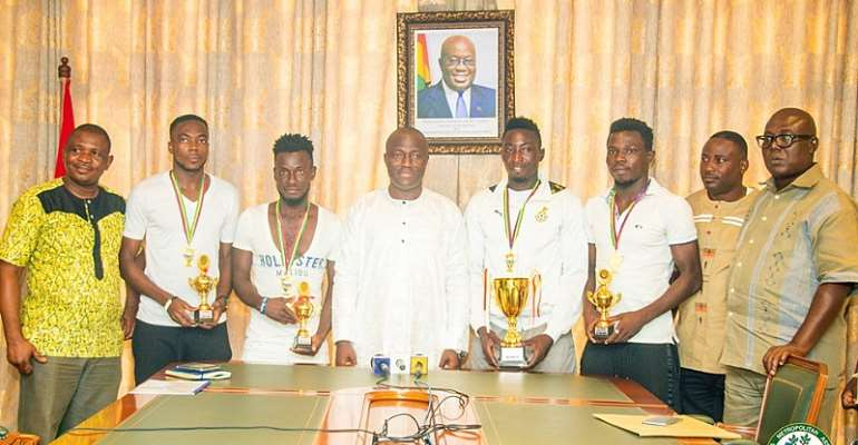Accra Mayor Commends Beach Sports Consult For Organising 2019 Homowo Tournament