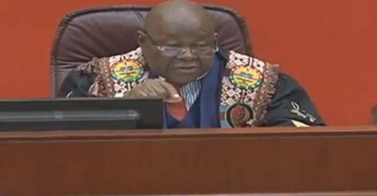 Professor Mike Oquaye, Speaker of Parliament