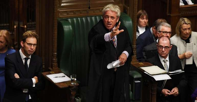 ©UK Parliament/Jessica Taylor/Handout via REUTERS