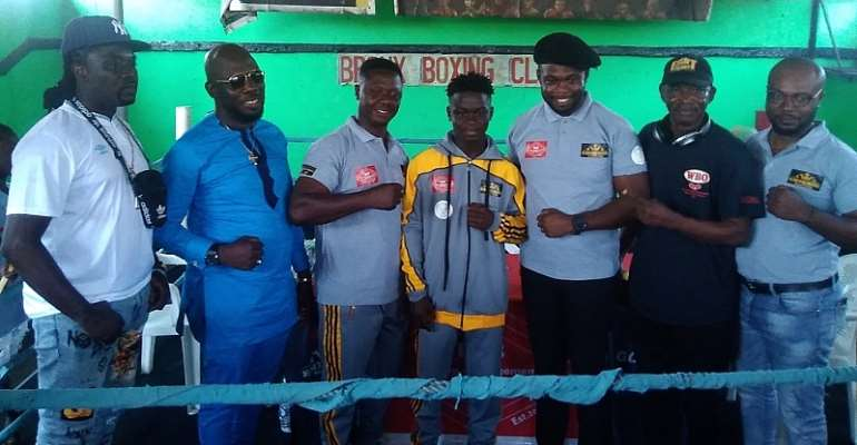 Boxer Daniel Selassie Gorsh Sheds Tears At Contract Signing Ceremony