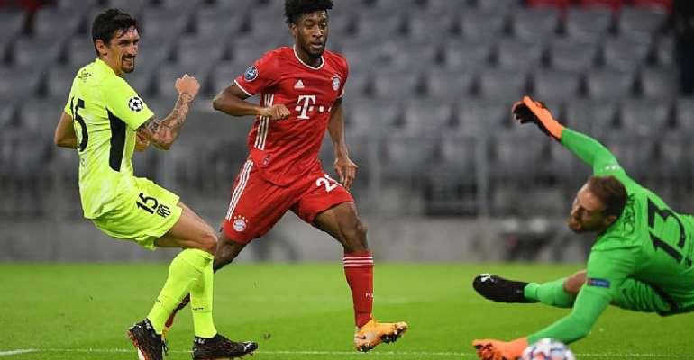 Kingsley Coman Nets Brace As Ruthless Bayern Munich Dispatch Atletico Madrid