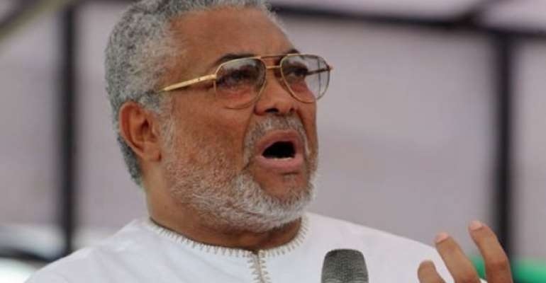 #EndSARS: Rawlings Urge Nigerians To Use Non-Violent Engagement