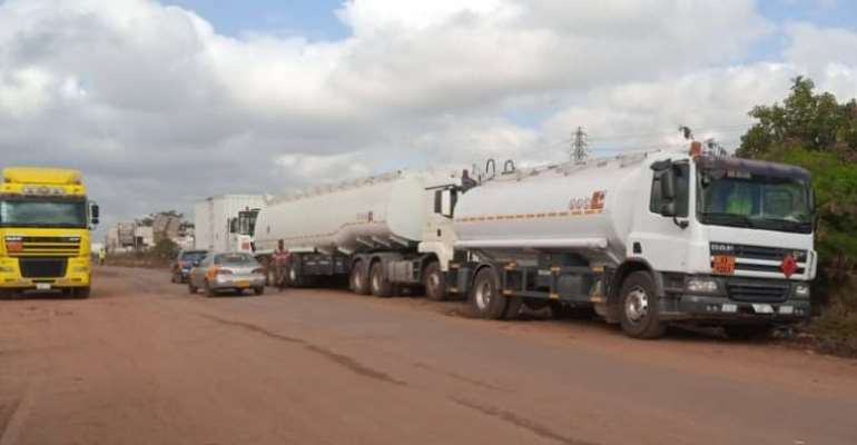 Tanker Drivers Union Begins Sit-Down Strike