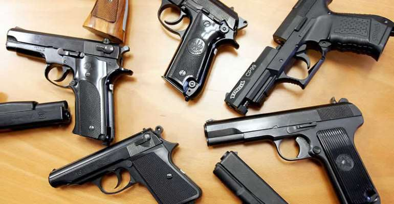 More Illegal Guns In Ashanti Region; Followed By Eastern, Central Regions  – Small Arms Commission Report