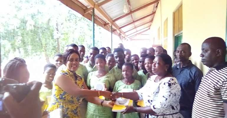 Your Donation Will Motivate Our Students – Yilo Krobo SHS To MTN