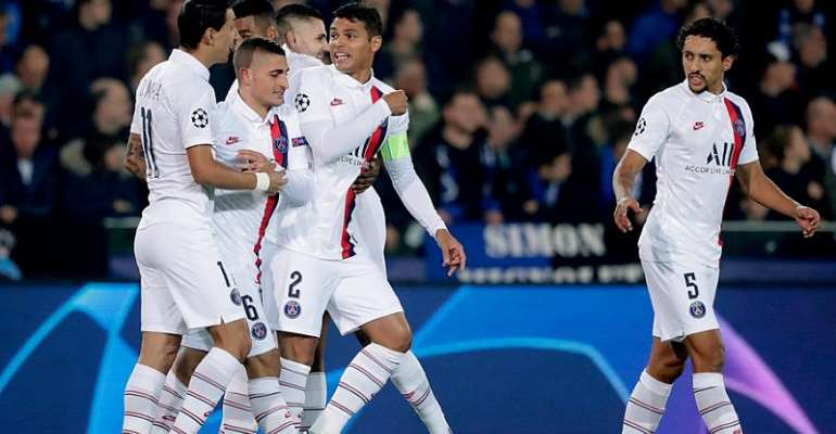 UCL: Sub Mbappe's Hat-Trick Puts PSG In Driving-Seat