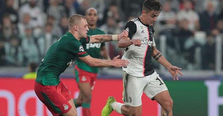 UCL: Dybala's Quickfire Brace Gives Juve Late Win Over Lokomotiv