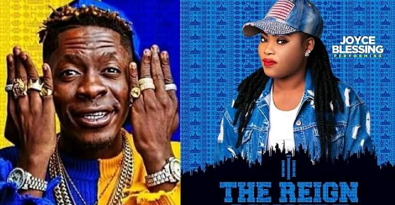 [Watch] Joyce Blessing, Jayana Thrill Fans At Shatta Wale's Reign Concert