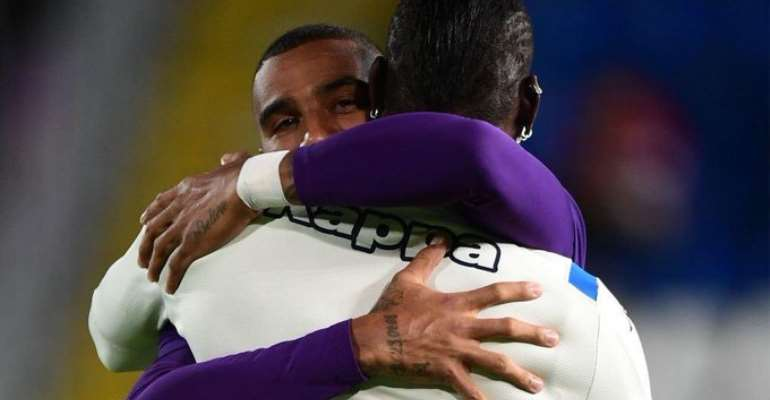 Its Always Good To See You My Brother = KP Boateng To Balotelli