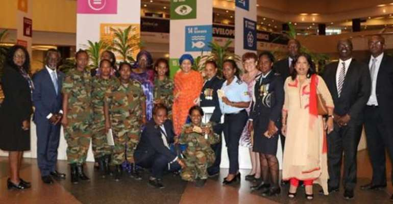 UN Deputy Chief Meets Women Peacekeepers In Addis Ababa