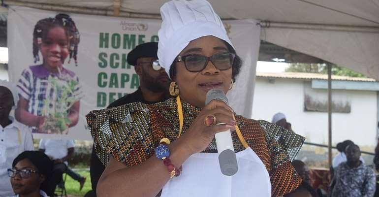 Mrs. Cynthia Mamle Morrison, Minister for Gender