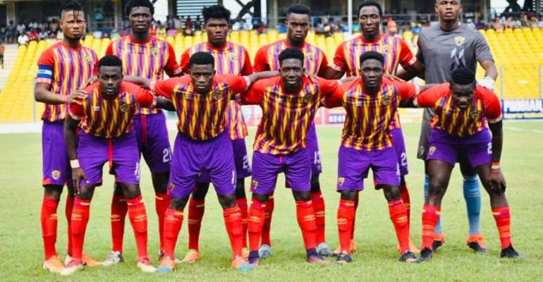 MATCH REPORT: Hearts Of Oak Lose 2-1 To Glow Lamp Academy