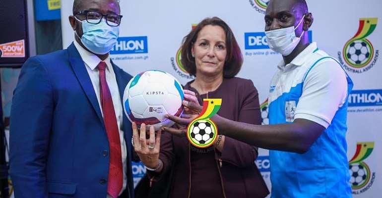 Ghana FA Unveil Decathlon As Official Retail Partner