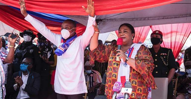 Vote Based On Akufo-Addo's Record — First Lady