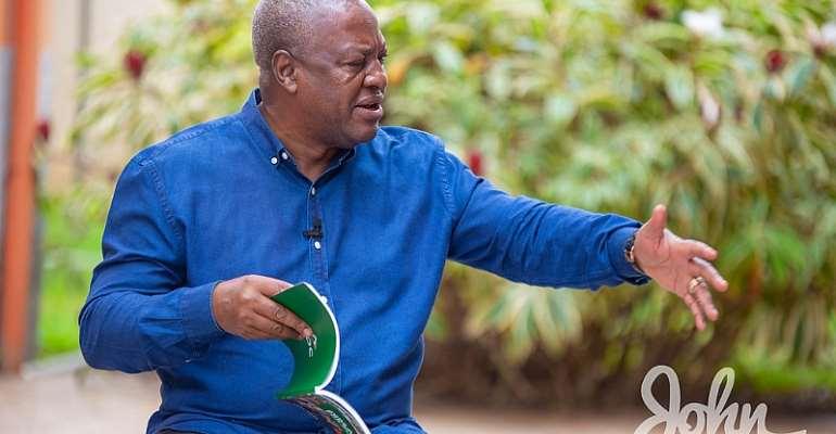 'Ofori-Atta's Performance Shockingly Abysmal; He Fooled Hypocritical IMF, Waiting To Hand Over Broken Economy' – Mahama