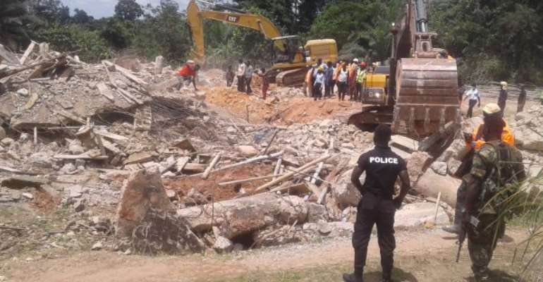 Church Disaster: Six Vicitms Treated, Discharged