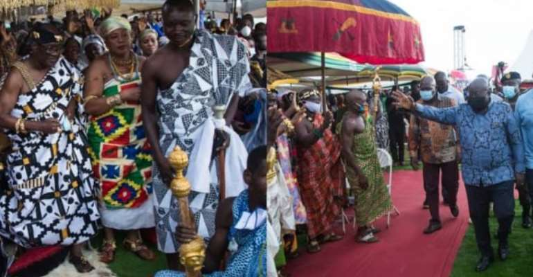 Development Projects Will Come To Your Region 'Gidigidigidi' — Akufo-Addo To Oti Region
