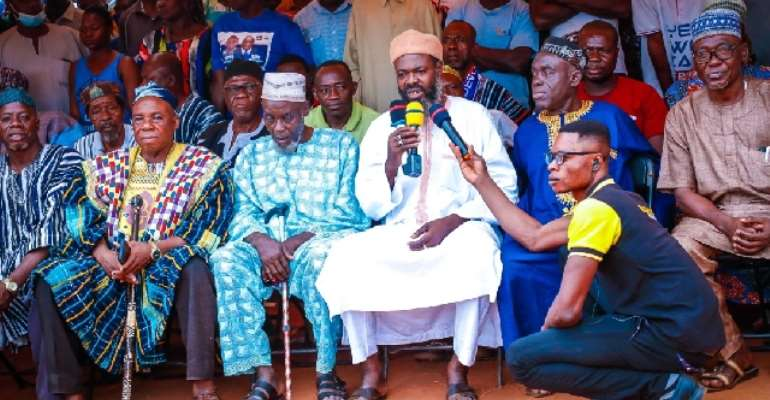 They Told Us That NPP Dislikes Zongos But Akufo-Addo, Bawumia Have Rather Lifted Us – Zongo Chiefs
