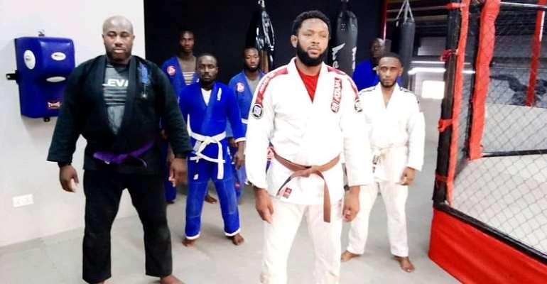 UK Based Jiu Jitsu Practitioners Hold Training In Accra