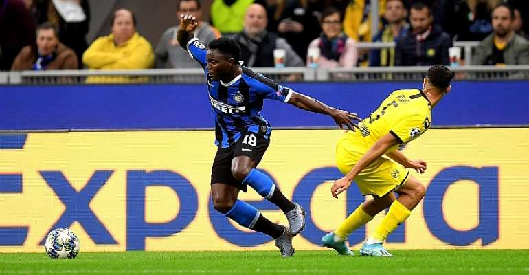 UCL: Kwadwo Asamoah Features In Inter Milan Over Borussia Dortmund