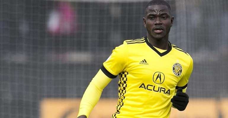 Ghana's Jonathan Mensah Extends Columbus Crew Contract
