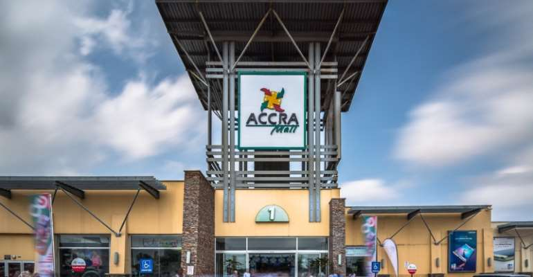 Accra Mall Tenants Close Shops, Protest Against Management Over High Rent
